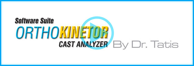 Orthokinetor Cast Analyzer